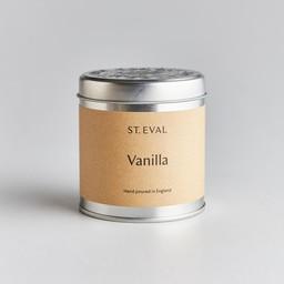 St Eval Natuurlijke Vanilla Geurkaars in Blikje 45 branduren