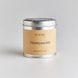 St Eval Kamperfoelie / Honeysuckle Natuurlijke Geurkaars in Blikje 45 branduren