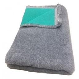 BoeZLife Vetbed professioneel grijs 35 mm met groene rug