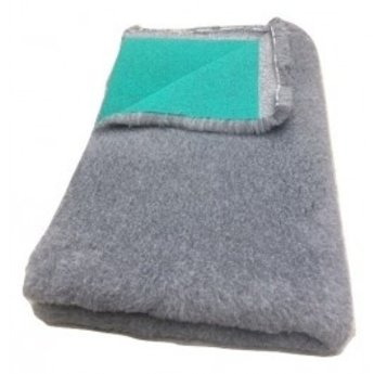 BoeZLife Vetbed Professioneel  Grijs 35 mm groene rug