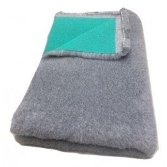 BoeZLife Vetbed professioneel,  grijs 35 mm met groene rug