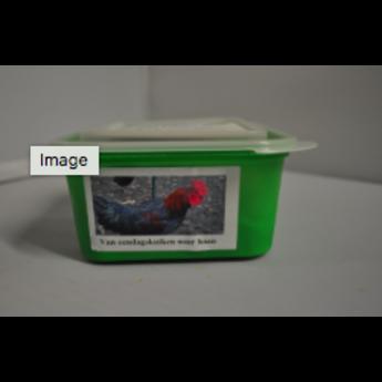 Bandit Biologische Hanenvlees Mix, complete vleesvoeding voor de hond