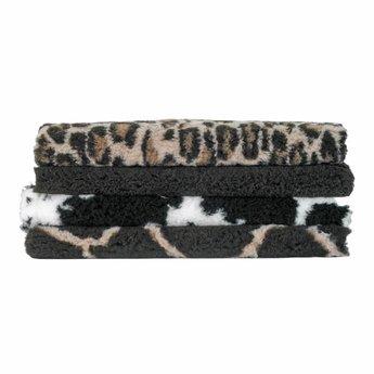 BoeZLife Vetbed angora ivoor wit antislip, voor in de mand of bench