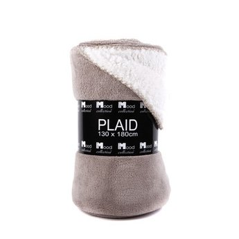 In The Mood Collection Fleece plaid / deken Athena kiezel