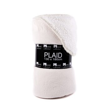 In The Mood Collection  Fleece plaid / deken Athena wit