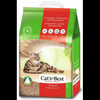 Cat's Best Öko Plus composteerbare kattenbakvulling