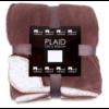In The Mood Collection Fleece plaid / deken Akropolis taupe grijs
