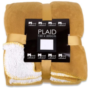 In The Mood Collection Fleece plaid / deken Akropoliantraciet