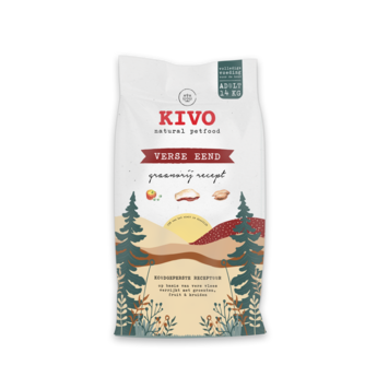 KIVO KIVO Verse Eend Koudgeperst Graanvrij