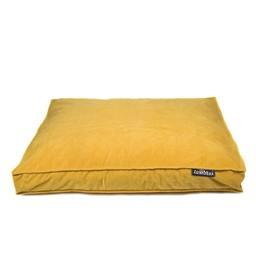 Lex & Max Boxbed Royal Velvet Honey Yellow