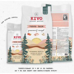 KIVO Verse Zalm Koudgeperst Graanvrij