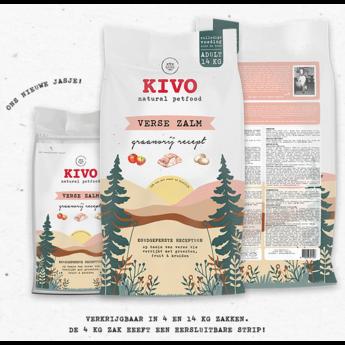 KIVO Verse zalm, koudgeperst graanvrij