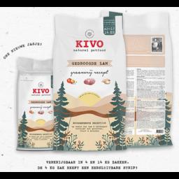 KIVO Gedroogde lam koudgeperst en graanvrij