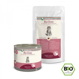 Herrmann's Bio Kattenvoer Eend / Ente