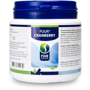 PUUR Cranberry, voor een gezonde blaas en urinewegen