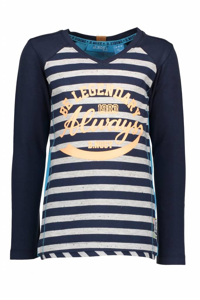 bnosy t-shirt 6414 blauw