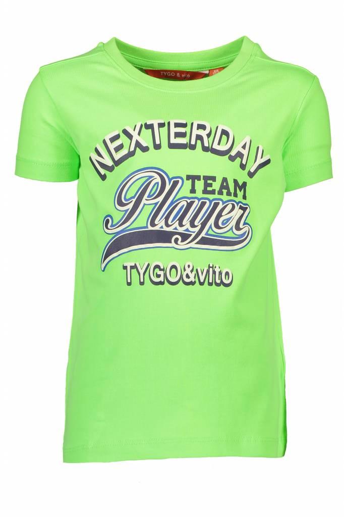 TYGO&VITO t-shirt 6404 groen