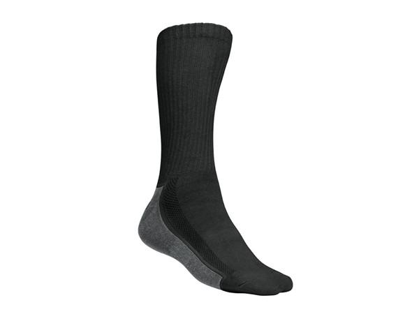 Tricorp online kopen bij JTH Tricorp werksok TSZ-8000-602009 zomer model Black-Grey twee paar per pak