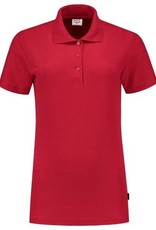 Tricorp online kopen bij JTH Tricorp poloshirt dames slimfit Red PPFT-180-201006