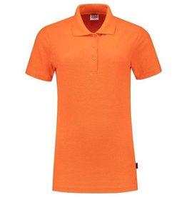 Tricorp online kopen bij JTH Tricorp poloshirt dames slimfit Oranje PPFT-180-201006