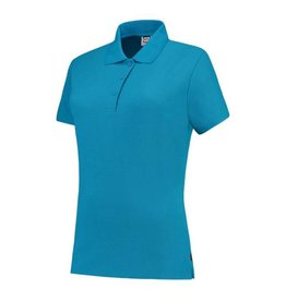Tricorp online kopen bij JTH Tricorp poloshirt dames slimfit Turquoise PPFT-180-201006