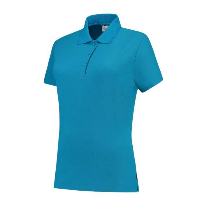 Tricorp online kopen bij JTH Tricorp poloshirt dames slimfit Tuquoise PPFT-180-201006