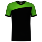 Tricorp online kopen bij JTH Tricorp T-shirt Naden 102006 Black Lime