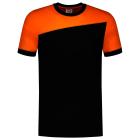 Tricorp online kopen bij JTH Tricorp T-shirt Naden 102006 Black Orange