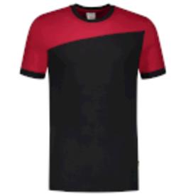 Tricorp online kopen bij JTH Tricorp T-shirt Naden 102006 Black Red