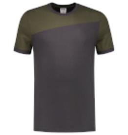 Tricorp online kopen bij JTH Tricorp T-shirt Naden 102006 Darkgrey Army