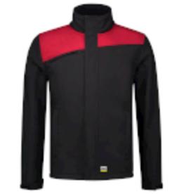 Tricorp online kopen bij JTH Tricorp Softshell Bicolor Naden 402021 Black  Red