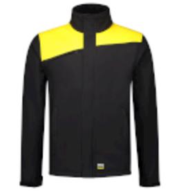 Tricorp online kopen bij JTH Tricorp Softshell Bicolor Naden 402021 Black  Yello