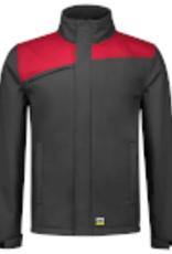 Tricorp online kopen bij JTH Tricorp Softshell Bicolor Naden 402021 Darkgrey  Red