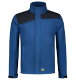 Tricorp online kopen bij JTH Tricorp Softshell Bicolor Naden 402021 Royal blue  Navy