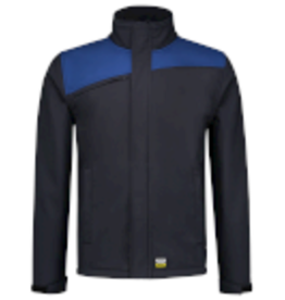 Tricorp online kopen bij JTH Tricorp Softshell Bicolor Naden 402021 Navy Royal blue