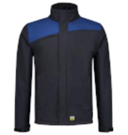 Tricorp online kopen bij JTH Tricorp Softshell Bicolor Naden 402021 Navy Royal blue