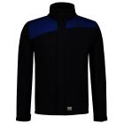 Tricorp online kopen bij JTH Tricorp Softshell Bicolor Naden 402021 Navy Royalblue