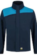 Tricorp online kopen bij JTH Tricorp Softshell Bicolor Naden 402021 Ink Turquoise
