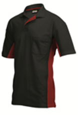 Tricorp online kopen bij JTH Tricorp poloshirt BI-Color TP-2000-20200 Black-red