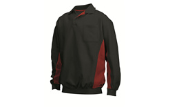 Tricorp online kopen bij JTH Polosweater Bi-Color TS-2000-302001 Black-Red