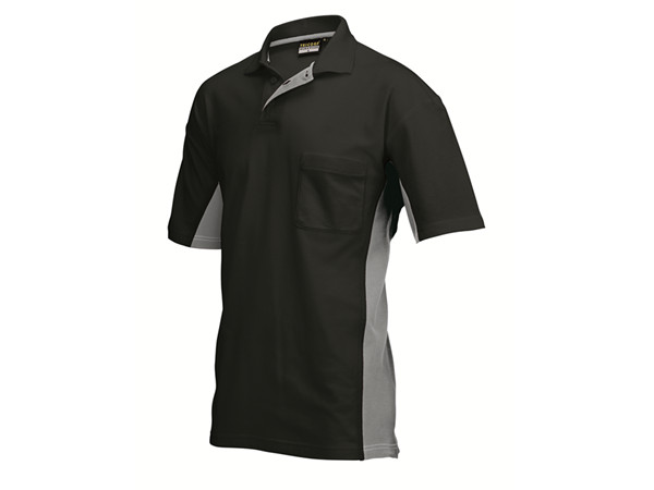 Tricorp online kopen bij JTH Tricorp poloshirt BI-Color TP-2000-202002  Black-Grey