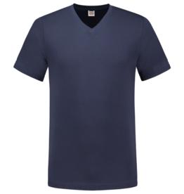 Tricorp online kopen bij JTH T-shirt V- hals Slimfit TFV-160-101005 Ink blauw