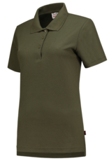 Tricorp online kopen bij JTH Tricorp poloshirt dames slimfit Army PPFT-180-201006