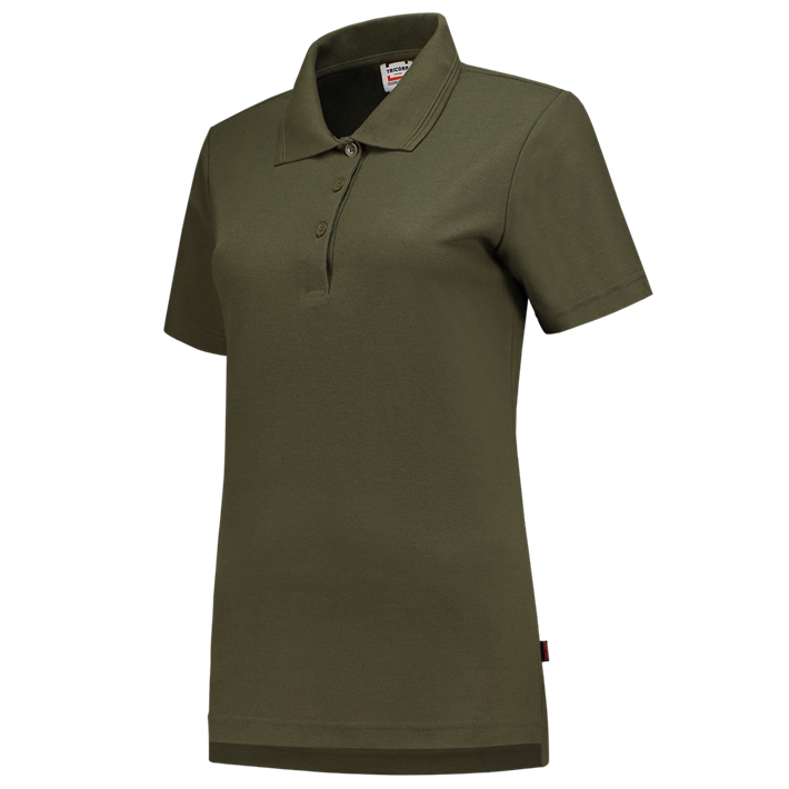 Tricorp online kopen bij JTH Tricorp poloshirt dames slimfit Army PPFT-180-201006 - Copy