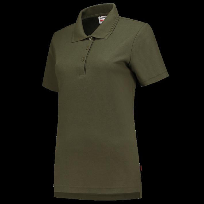 Tricorp online kopen bij JTH Tricorp poloshirt dames slimfit Army PPFT-180-201006 - Copy