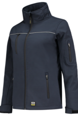 Tricorp online kopen bij JTH Tricorp soft shell jack dames 402009  Navy