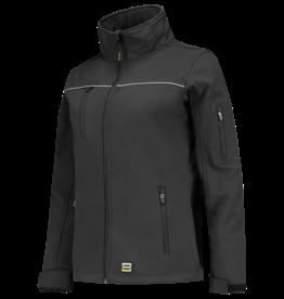 Tricorp online kopen bij JTH Tricorp soft shell jack dames 402009  Dark Grey