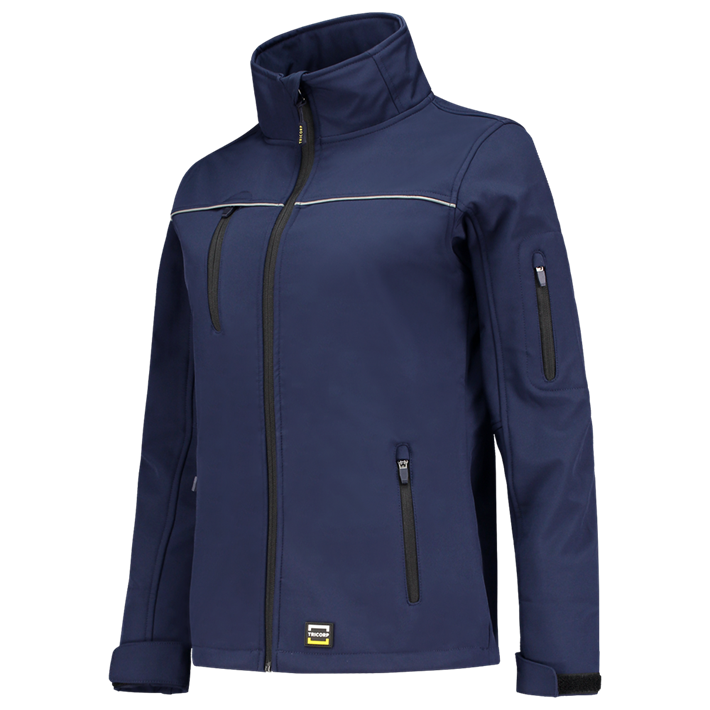 Tricorp online kopen bij JTH Tricorp soft shell jack dames 402009  Ink