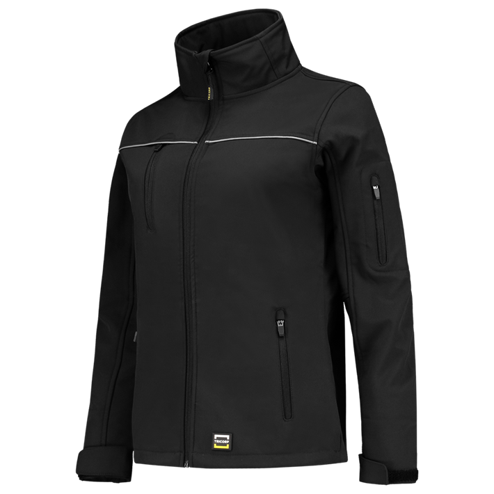 Tricorp online kopen bij JTH Tricorp soft shell jack dames 402009  Black