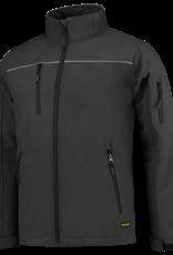 Tricorp online kopen bij JTH Tricorp soft shell luxe jack Kids 402016 Dark Grey